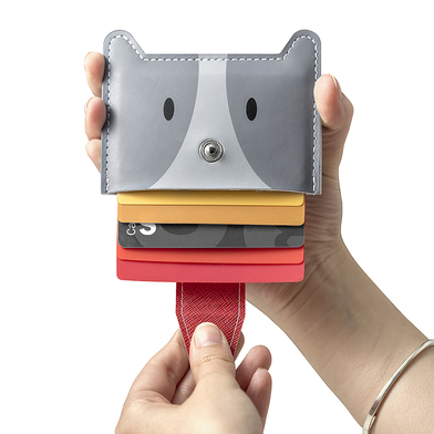 Balvi - Zoo-wallet 5 cards credit card holder in the shape of a dog