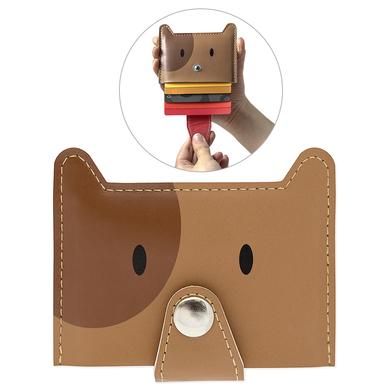 Balvi - Zoo-wallet tarjetero para 5 tarjetas con forma de perro