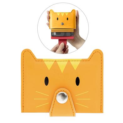 Balvi - Zoo-wallet tarjetero para 5 tarjetas con forma de gato
