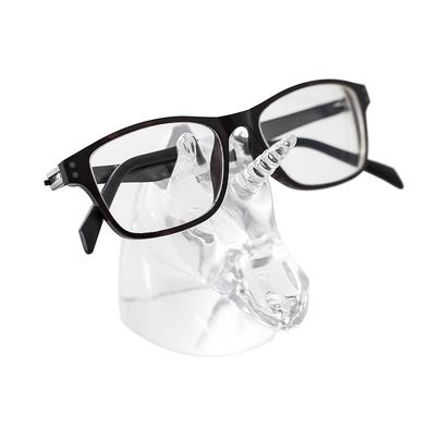 Balvi soporte gafas Unicorn Color transparente En forma de cabeza de unicornio Polyresina