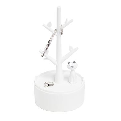 Balvi soporte joyas Kitty Blanco La base es un contenedor Plástico ABS 19 x 10 x 10 cm