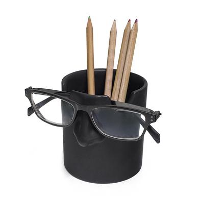 alvi portalápices & soporte gafas Mr Tidy Color negro Mantén tus gafas ordenadas en tu casa y oficin
