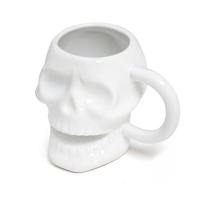 alvi mug Skully Couleur blanc En forme de tête de mort Capacité: 320 ml passe au lave-vaisselle et a