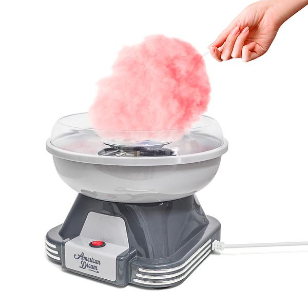 Balvi Máquina algodón azúcar American Dream Tiene un diseño compacto y es muy fácil de usar Plástico