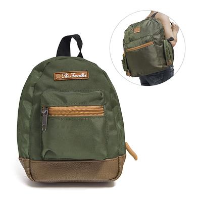 alvi mochila plegable The Traveller Color verde Ocupa muy poco espacio y es muy fácil de plegar Poli