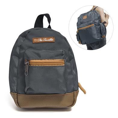 alvi mochila plegable The Traveller Color gris Ocupa muy poco espacio y es muy fácil de plegar Polié