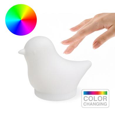 alvi Lumière Birdie Le point de l'enfant de la lumière Change de couleur Sensible au toucher Il alim