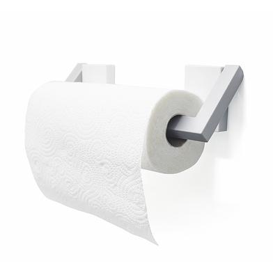 Balvi Soporte papel cocina Magneto Color blanco/gris Portarollos magnético Plástico
