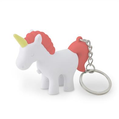 Balvi llavero Unicorn Color Rosa Llavero con luz en forma de unicornio Plástico ABS/metal