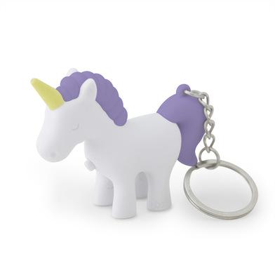 Balvi llavero Unicorn Color Azul Llavero con luz en forma de unicornio Plástico ABS/metal