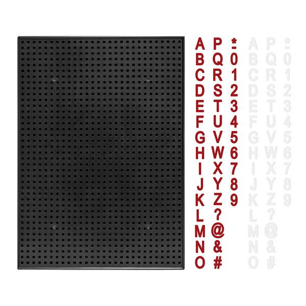 Balvi Pizarra Billboard Color negro Pizarra perforada 350 piezas Magnética Plástico