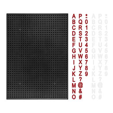 Balvi Lavagna Billboard Colore nero pezzi di ardesia magnetici perforate 350 Plastica