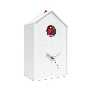 alvi Réveil Cucu Couleur blanc Horloge à poser ou à accrocher Piles: 1xAA + 2XC (non incluses) Plast