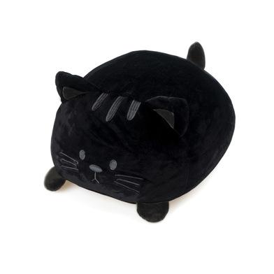 Balvi Cojín Kitty Color negro Forma de gato Suave y muy blando Poliéster
