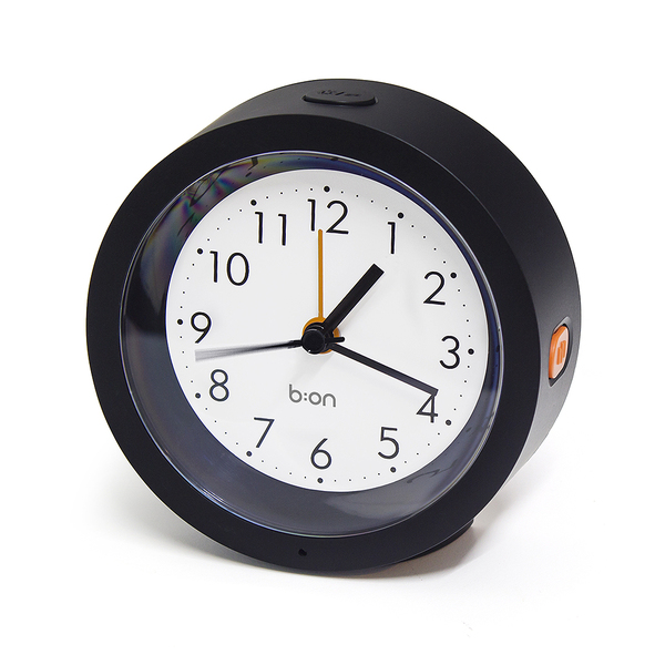 alvi Despertador Firefly Color negro Con sensor de luz Alarma Funciona con 2 pilas AA (no incluidas)