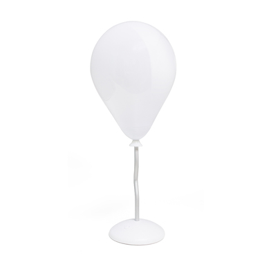 alvi Lámpara de mesa Ballon Color blanco Con forma de globo Luz multicolor Cable USB incluido Pilas: