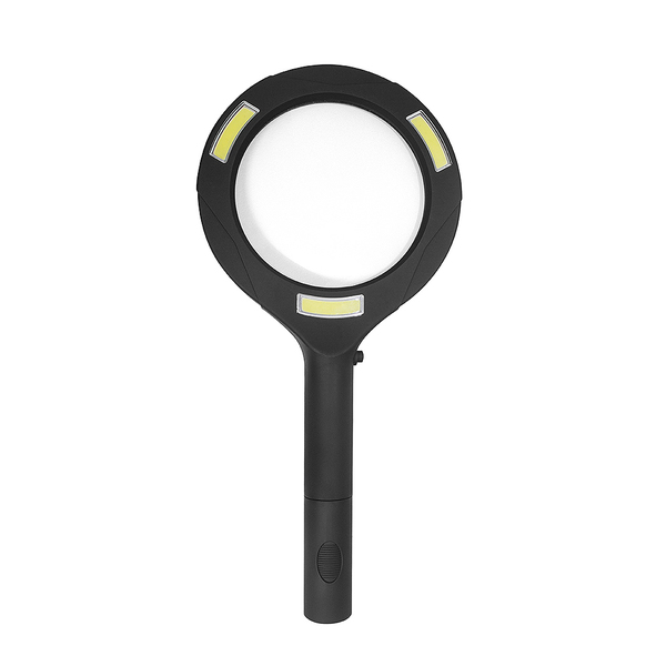 Balvi Lupa Zoom Color negro Con luz Aumento x 3 Pilas:2xAA (no incluidas) Plástico ABS