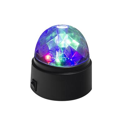 Balvi Lumière disco Disco Couleur noir Tournante Piles: 3xAA (non incluses) Plastique ABS