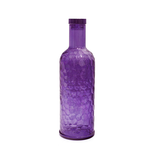 Balvi Botella Provence 1L Color morado Con tapón Acrílico 28cm