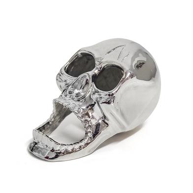 Balvi Abrebotellas The Skull Color plateado Con forma de calavera Zinc 8cm