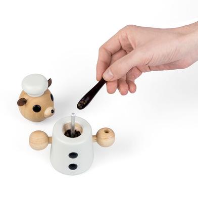 Balvi Pepper grinder Teddy Shaped bear Wood