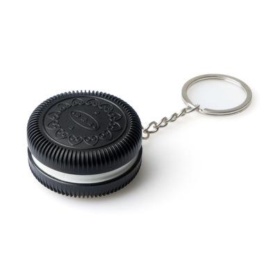 Balvi Porte-clefs & pilulier Cookie Pour accrocher vos clés ou y mettre vos pilules Métal/plastique