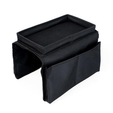 Balvi Organizer da bracciolo del divano Sofa Master Colore nero Con 6 tasche e vassoio Poliestere