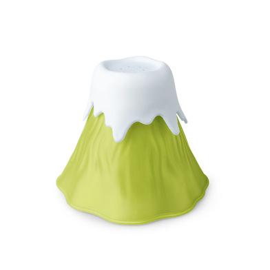 Balvi Limpia microondas Volcano Color verde Plástico PP