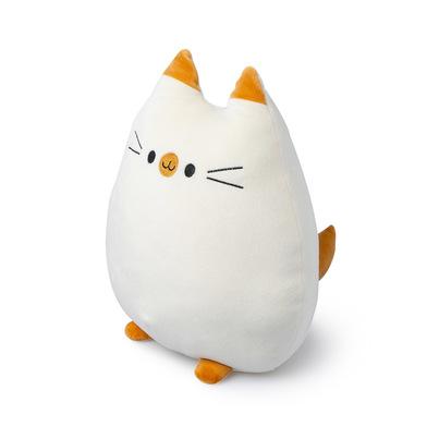 Balvi Cojín Sweet Kitty Color blanco Forma de gato Suave y muy blando Poliéster