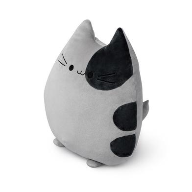 Balvi Cojín Sweet Kitty Color gris Forma de gato Suave y muy blando Poliéster