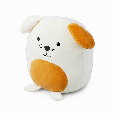 Balvi Cojín Woof! Color blanco Forma de perro Suave y muy blando Poliéster
