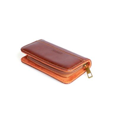 Balvi Set manicura l'Hédoniste Color marrón Con tijeras, cortauñas, pinzas y lima Polipiel / Inox