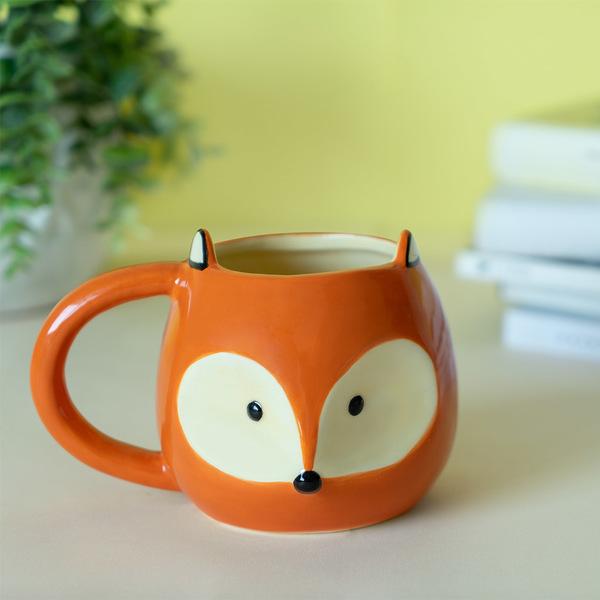 Balvi Mug Fox Taza con cara de zorro Capacidad: 482ml Cerámica