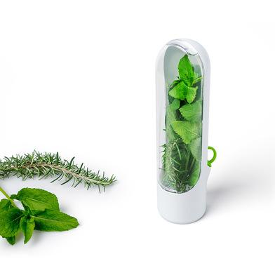 alvi Conservador hierbas aromáticas Fresh Color blanco Con tapón Con tapa transpararente Plástico AB