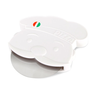 alvi Pizzaiolo Pizza Cutter White Colour Original Pizza Cutter Design in the shape of an Italian piz