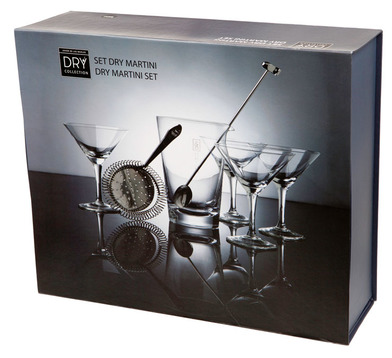 Balvi - Set Dry Martini Dry Collection inox/vidrio