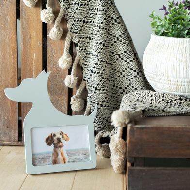Balvi Frame Dog White colour Dog-shaped For 10x15cm photo MDF wood 25cm