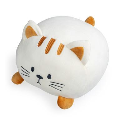 Balvi Cojín Kitty Color blanco Forma de gato Suave y muy blando Poliéster