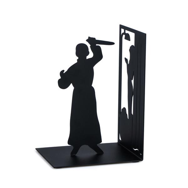 Balvi/-/Sherlock/sujetalibros/Decorativo/de/Metal/en/Color/Negro./Dise/ño/Original