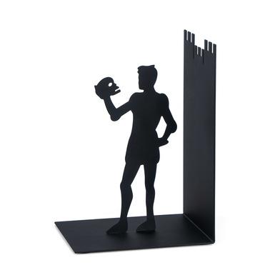 Balvi - Hamlet sujetalibros decorativo de metal en color negro