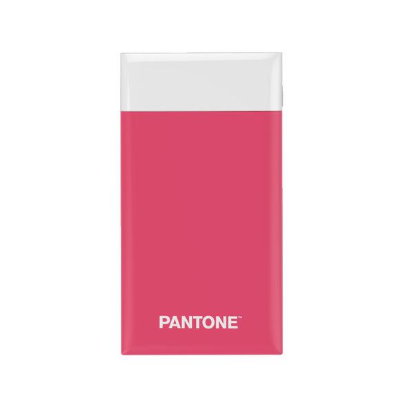 alvi Batería 6000mAh Pantone Color rosa Carga rápida Indicador de carga LED Con cable USB DC5V Entra