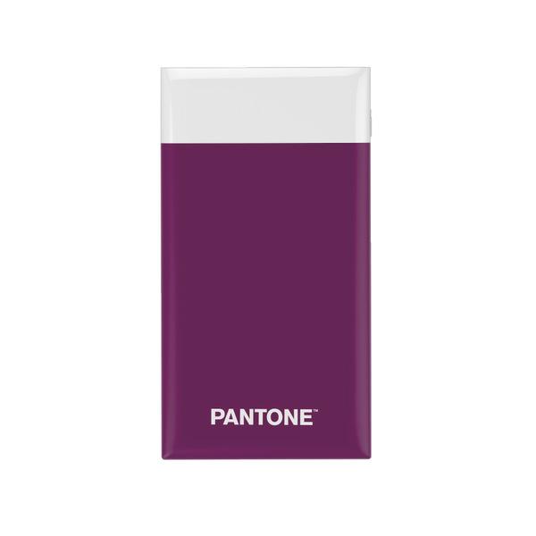 alvi Batería 6000mAh Pantone Color púrpura Carga rápida Indicador de carga LED Con cable USB DC5V En