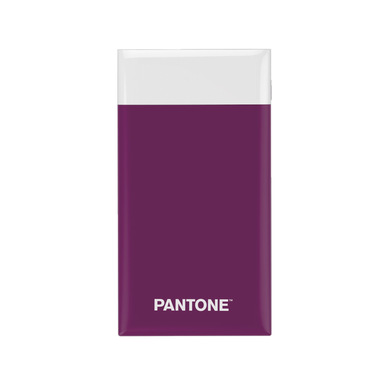 alvi Batterie 6000mah Pantone Couleur violet Charge rapide Indicateur de charge LED Avec câble USB D