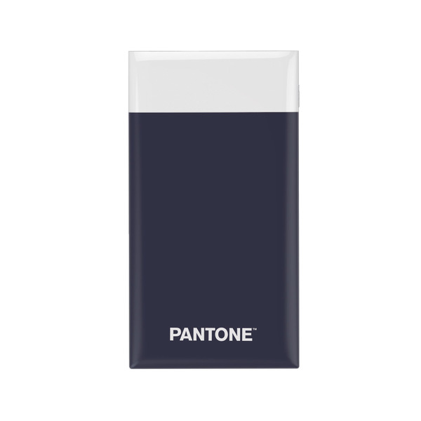 alvi Batería 6000mAh Pantone Color azul marino Carga rápida Indicador de carga LED Con cable USB DC5