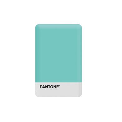 alvi Batterie 2500mAh Pantone Couleur turquoise Charge rapide Indicateur de charge LED Avec câble US