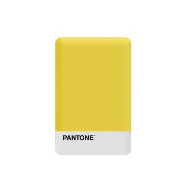 alvi Batterie 2500mAh Pantone Couleur jaune Charge rapide Indicateur de charge LED Avec câble USB DC