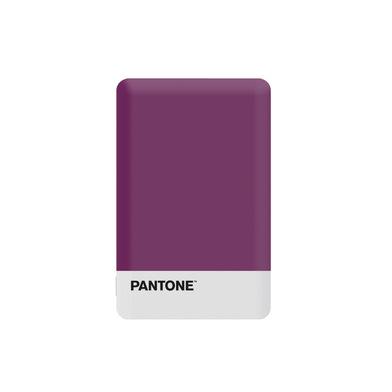 alvi Batería 2500mAh Pantone Color púrpura Carga rápida Indicador de carga LED Con cable USB DC5V En