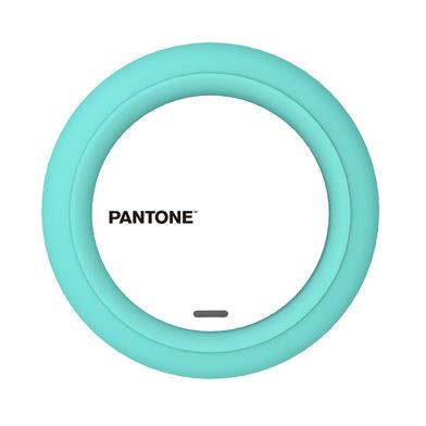 alvi Cargador inalámbrico Pantone Turquesa Carga rápida iPhone 8, X, XS, Samsung Galaxy 6,7,8,9, Xao
