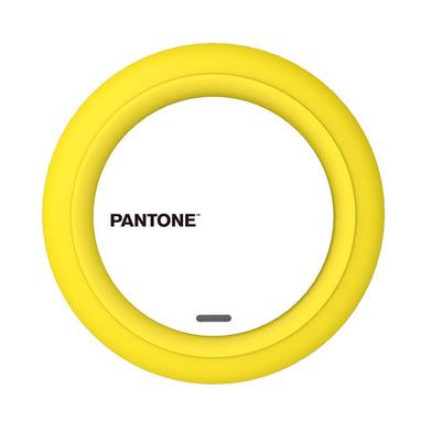 alvi Cargador inalámbrico Pantone Amarillo Carga rápida iPhone 8, X, XS, Samsung Galaxy 6,7,8,9, Xao