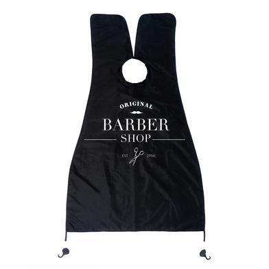 Balvi Barber apron Barber Shop Black colour With suction cups Polyester 130x80cm